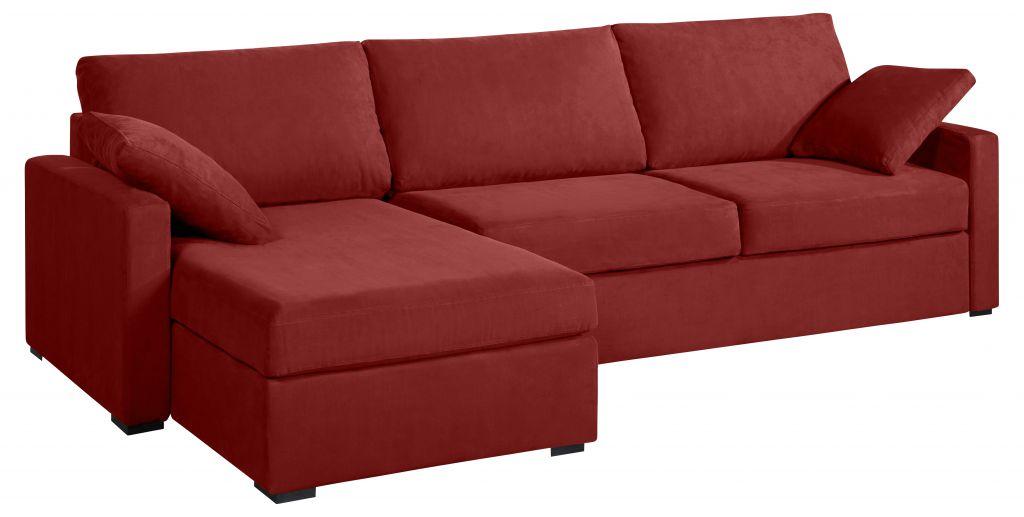 canap d 39 angle tissu osman fixe ou convertible home spirit. Black Bedroom Furniture Sets. Home Design Ideas