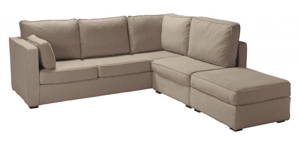 canap d 39 angle tissu palerme fixe ou convertible home spirit. Black Bedroom Furniture Sets. Home Design Ideas