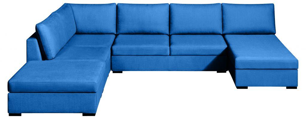 canap grand angle tissu max fixe ou convertible home spirit. Black Bedroom Furniture Sets. Home Design Ideas