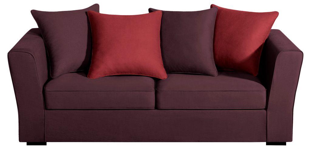 canap tissu watson fixe ou convertible home spirit. Black Bedroom Furniture Sets. Home Design Ideas