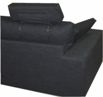 appui t te en tissu home spirit par d stockage canap. Black Bedroom Furniture Sets. Home Design Ideas
