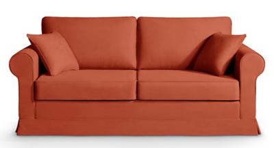 canap tissu cordoue fixe ou convertible home spirit. Black Bedroom Furniture Sets. Home Design Ideas