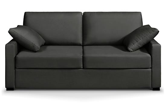 Canapé tissu gris Osman Home Spirit, fixe ou convertible