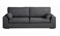 Canapé gris TENERIFE, Home Spirit fixe ou convertible