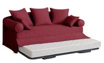 Canapé tissu, lit-gigogne CASABLANCA Home Spirit