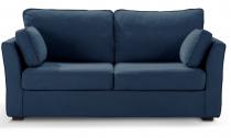 Canapé tissu CHARLOTTE fixe ou convertible Home Spirit