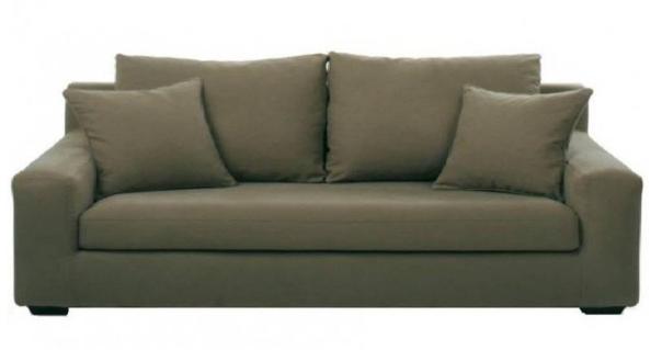 Canapé tissu MANHATTAN fixe ou convertible Home Spirit