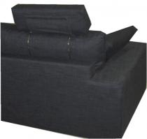 Canapé tissu PALERME fixe ou convertible Home Spirit