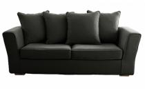 Canapé tissu gris Watson Home Spirit, fixe ou convertible