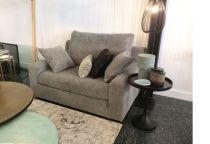 Fauteuil tissu OSMAN Love seat fixe ou convertible Home Spirit