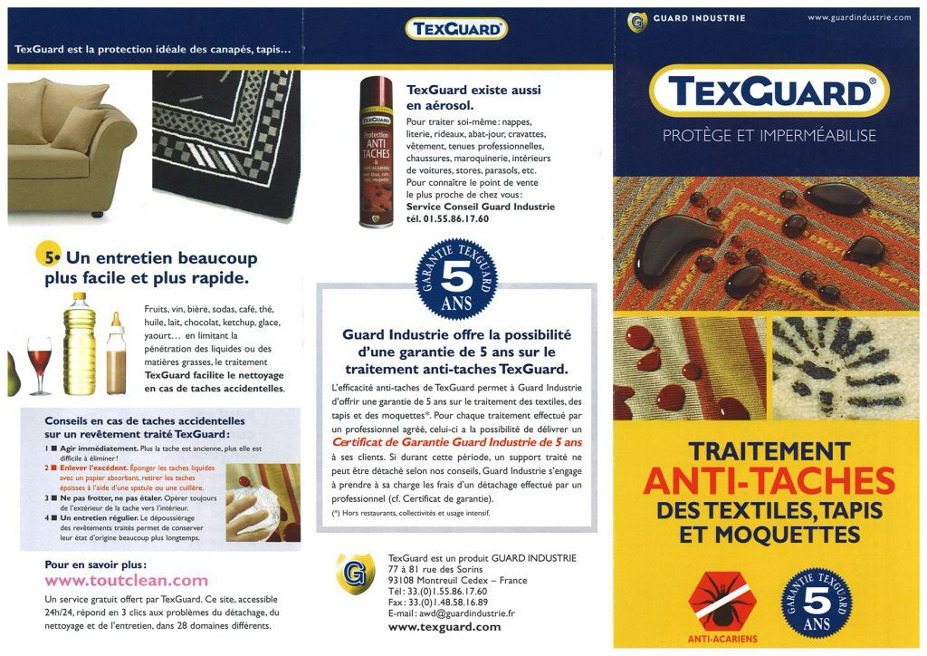 Texguard anti-tâche Home Spirit