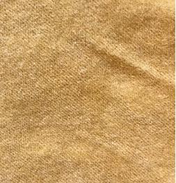 velours unique blé 100% coton