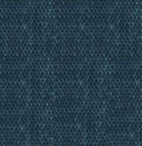boston bleu paon foncé 100% polyester