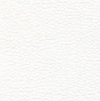 PU blanc aspect cuir