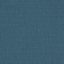 mikado bleu paon 72% coton - 18% lin